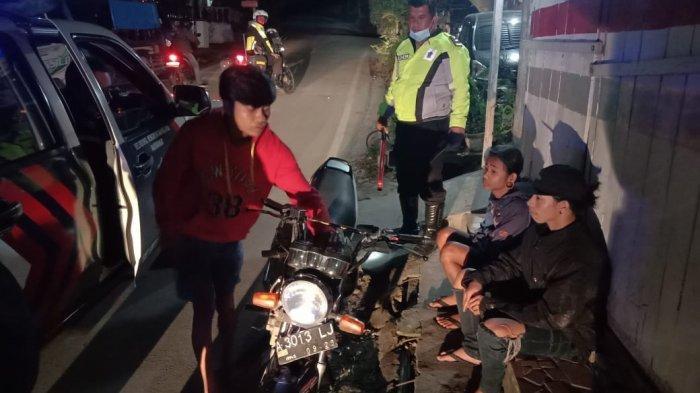 Patroli di Kota Wisata Parapat, Polisi Amankan 11 Sepeda Motor Knalpot Racing