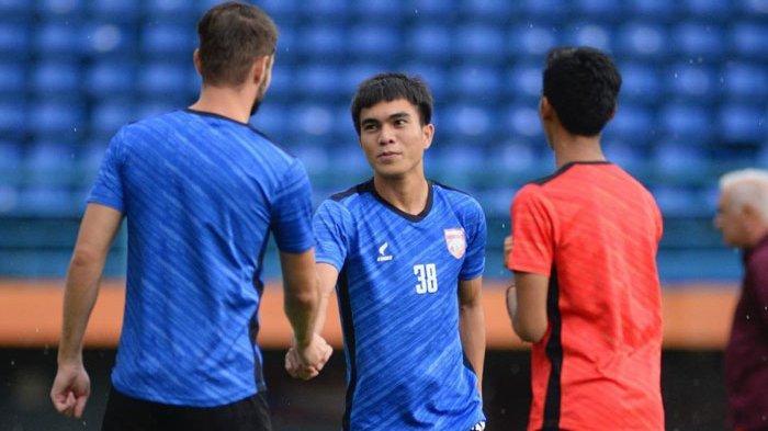 Paulo Sitanggang Berseragam Borneo FC