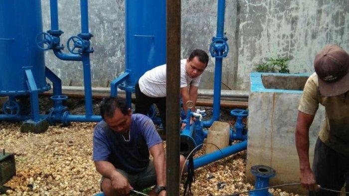 Air Ledeng Sudah Mengalir 24 Jam, Warga Denai: Terimakasih PDAM Tirtanadi dan Gubernur Sumut