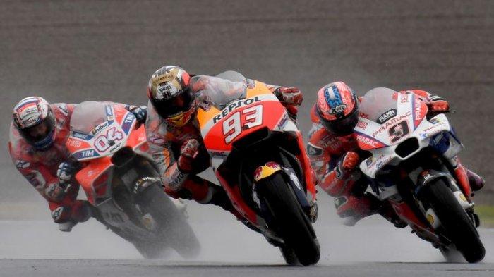 MotoGP 2018 Hari Ini - Marc Marquez dan tim Honda Siap Rayakan Juara di MotoGP Jepang, Tertekan?