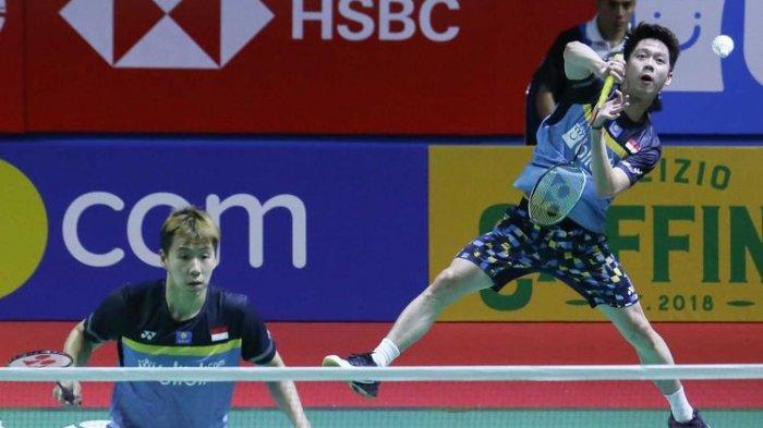MASIH BERLANGSUNG, Simulasi Olimpiade Tokyo 2020, Live Badminton Indonesia,Ahsan/Hendra Main