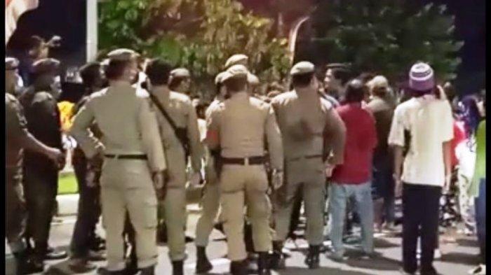 Pedagang di Lapangan Merdeka Binjai Menolak Tutup, Kepala Satpol PP Mengaku Anak Buahnya Dipukul