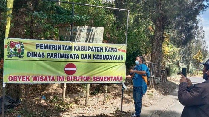 Pemkab Karo Berlakukan PPKM Level 3, Seluruh Objek Wisata Ditutup Sementara