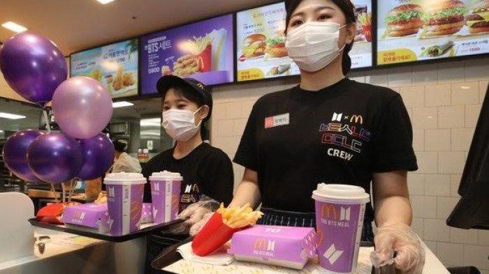 SEMPAT Viral, McDonalds di Medan Resmi Keluarkan Menu Spesial BTS Meal Hari ini, Simak Cara Ordernya