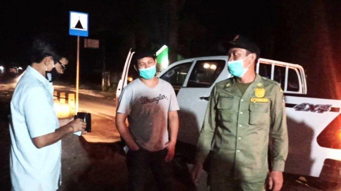 Arogan Kali, Mobil Pelat Merah Terobos Pos Penyekatan, Pengendara Jual Nama Pejabat Dishut