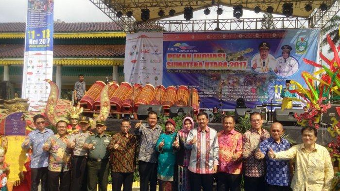 Tengku Erry Nuradi Buka Pekan Inovasi Sumut di Lapangan Merdeka