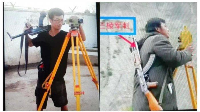 9 Insinyurnya Tewas dalam Serangan Bom, Kini Pekerja China Bawa Senapan AK-47 saat Bekerja