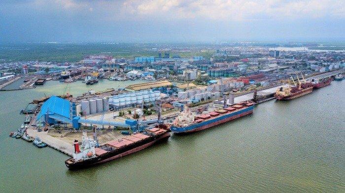 Produktivitas Bongkar Muat Pelabuhan Belawan Didominasi Curah Kering dengan Peningkatan 10 Persen