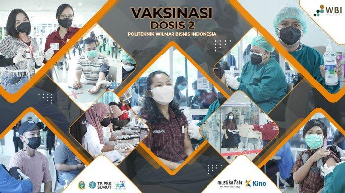 Bantu Pemerintah Lawan Pandemi, Politeknik WBI Gandeng Berbagai Pihak Vaksinasi Ribuan Siswa