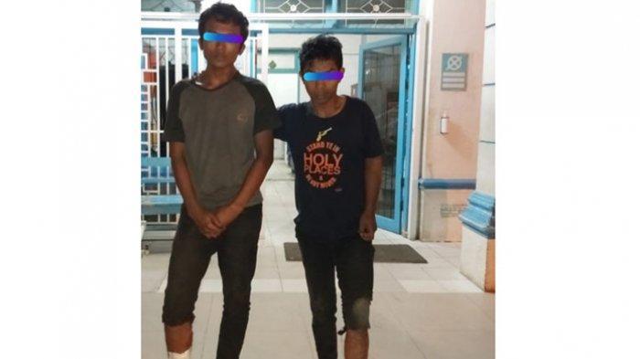Bawa Kabur Sepeda Motor Pengunjung Penatapan, Dua Pria Dihadiahi Timah Panas