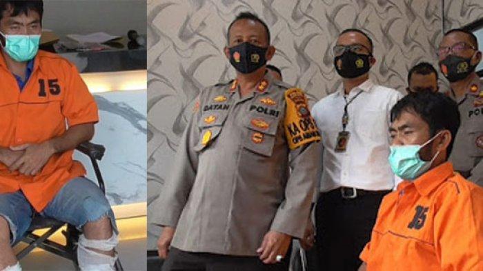Polisi Tembak Kaki Buronan Kasus Pembunuhan di Medan Deli