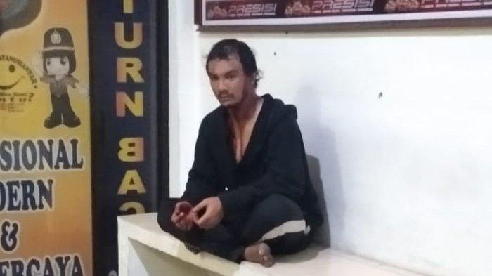 Kesal Dituduh Mencuri Beras, Pemuda Ini Tiga Kali Tikam Uak Sendiri di Siantar Martoba