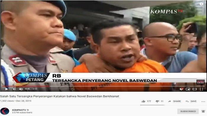 Pelaku Penyerangan Novel Baswedan Teriak Pengkhianat, Beginilah Analisa Pakar Bahasa Tubuh