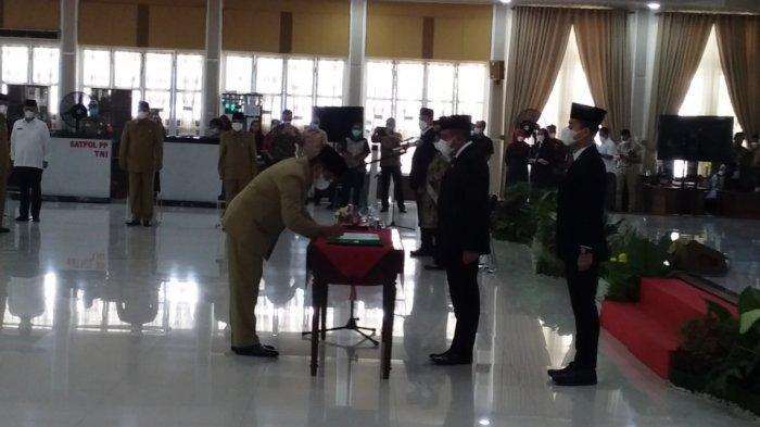 Lantik 13 Pejabat Eselon II, Gubernur Sumut Tegaskan Harus Amanah