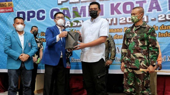 Wali Kota Medan Ajak GAMKI Kolaborasi Tekan Penyebaran Virus Covid-19