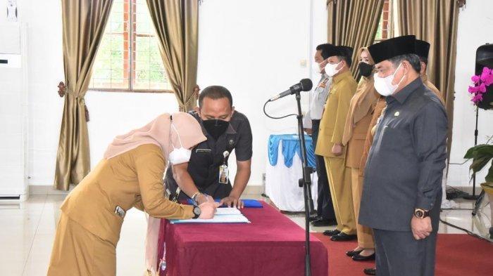 Pesan Wakil Bupati Deliserdang untuk Pejabat yang Baru Dilantik: Birokrasi tak Boleh Lelet