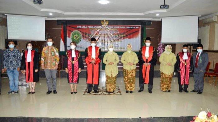 Tiga Pengadilan Negeri di Sumut Punya Pimpinan Baru, Ketua PT Medan Langsung Beri Ultimatum
