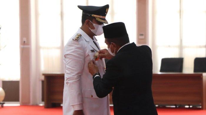 Edy Rahmayadi Singgung Soal Pecah Kongsi saat Melantik Wakil Wali Kota Binjai
