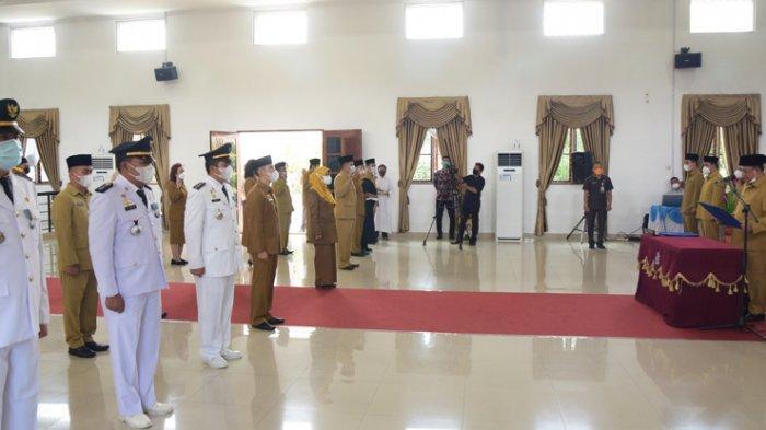 Bupati Deliserdang Lantik Camat dan Puluhan Pejabat Eselon III