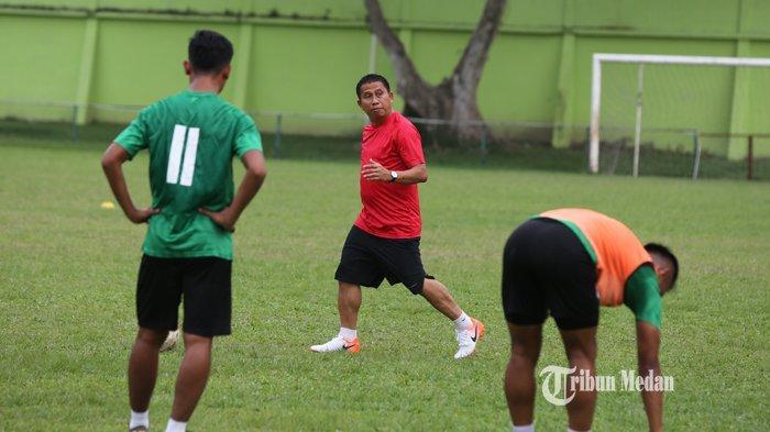 Pelatih PSMS Belum Punya Kerangka Tim untuk Edy Rahmayadi Cup, Kamis Gelar Uji Coba