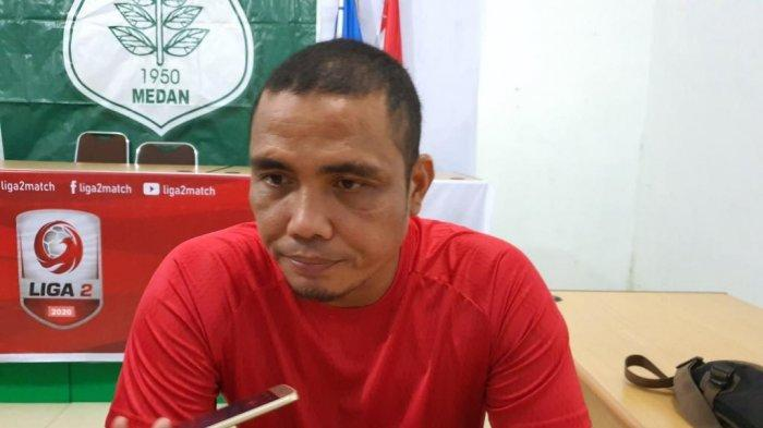 Sahari Gultom Dipanggil Timnas U-19, M Halim Gantikan Posisi Pelatih Kiper PSMS Medan