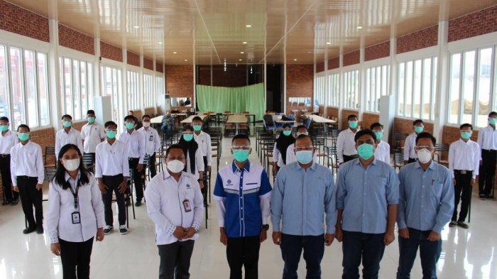 Kerja Sama dengan PT Unilever Oleochemical, 16 Peserta Ikuti Pelatihan Las di BBPLK Medan