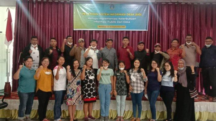 Dorong Implementasi Keterbukaan, Yayasan Ate Keleng Gelar Pelatihan Sistem Informasi Desa