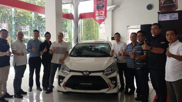 New Agya Resmi Mengaspal di Medan, Toyota Targetkan Penjualan 75 Unit per Bulan di Sumut