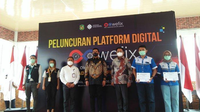 Platform Digital Wefix Pertemukan Tenaga Kerja dan dan Perusahaan