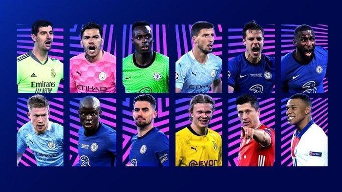 DAFTAR Nominasi 30 Pemain Ballon d'Or 2021, Simon Kjaer Masuk, Ronaldo, Messi hingga Lukaku