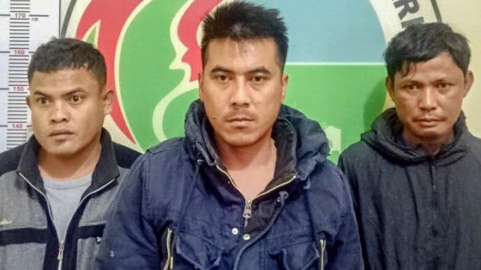 Isap Ganja di Belakang Rumah Orang, Tiga Sekawan Diciduk Polisi