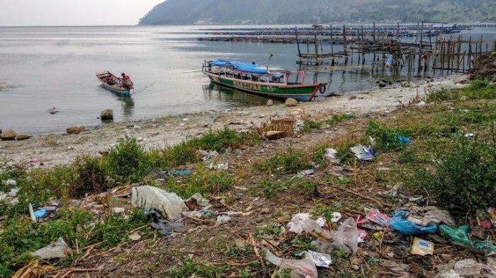 Sudut Danau Toba pada Wilayah Ini Sangat Kumuh, Kesadaran Warga Jaga Kebersihan Masih Kurang!