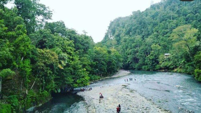 Menyusuri Goa dan Menikmati Dingin Air Di Pemandian Alam Batu Katak Langkat