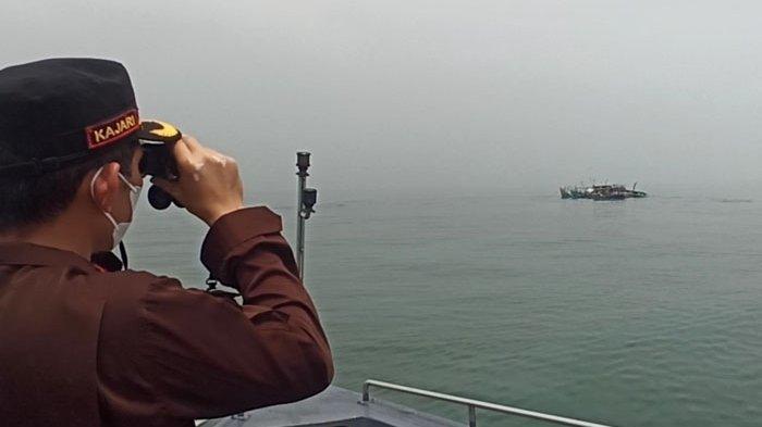 Langgar Zona Teritorial, Tiga Kapal Malaysia Ditenggelamkan di Perairan Belawan