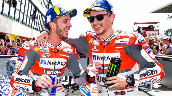 MotoGP 2019 - Terkuak Keuntungan Finansial Andrea Dovizioso karena Performa Buruk Jorge Lorenzo