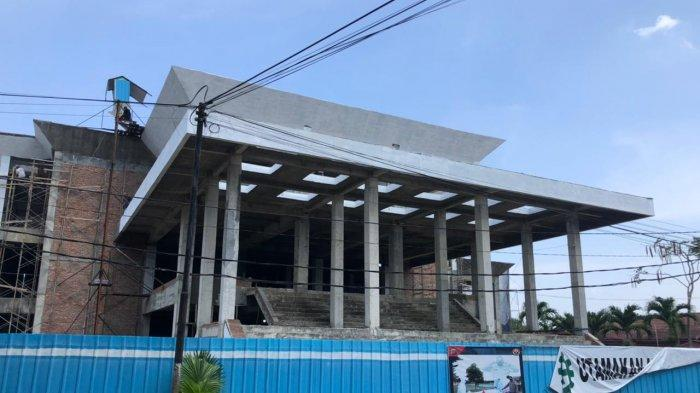 KPK Sorot Pembangunan Gedung DPRD Kota Binjai yang Mangkrak