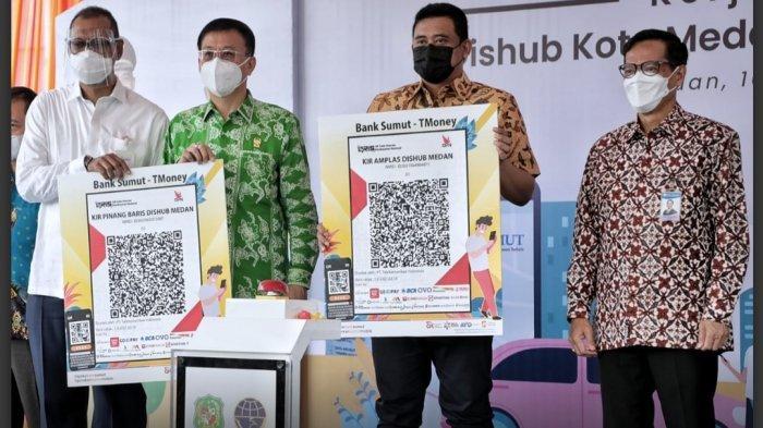 Bayar Uji KIR Pakai Qris dan Qren Bank Sumut, Diresmikan Wali Kota Medan Bobby Nasution