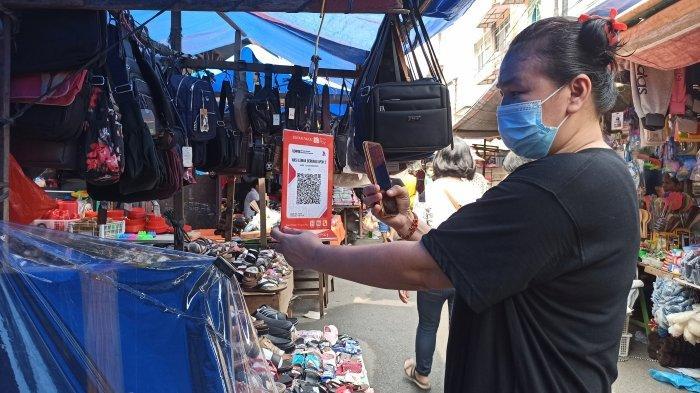 Dulu Jadi Primadona, Pembayaran QR Code di Pasar Mulai Ditinggal Pembeli Karena Cashbacknya Sedikit