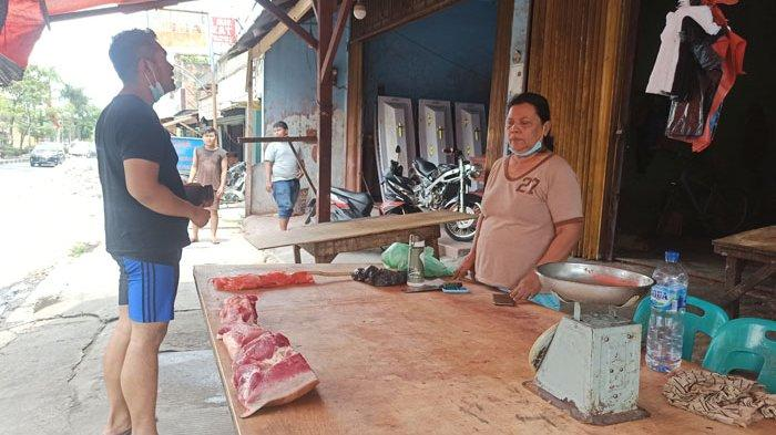 Harga Daging Babi Rp 130 Ribu Per Kilogram, Pedagang Mulai Kesulitan Dapatkan Stok