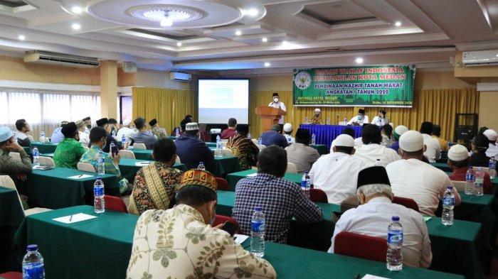 Dalam Acara Pembinaan Nazhir, Plt Kabag Setda Medan Bicara Soal Pentingnya Wakaf