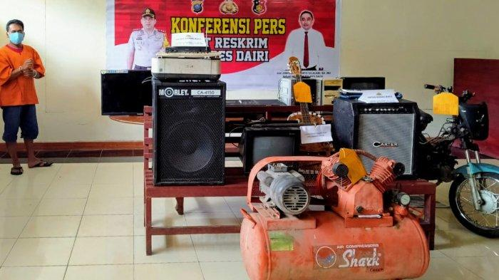 Sakit Hati Dipecat, Eks Karyawan Sekolah Pendeta Balas Dendam, Curi Barang-barang Inventaris