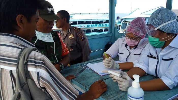 Suhu Tubuh Terdeteksi di Atas 38 Derajat, Tiga Pendatang Dipulangkan dari Samosir