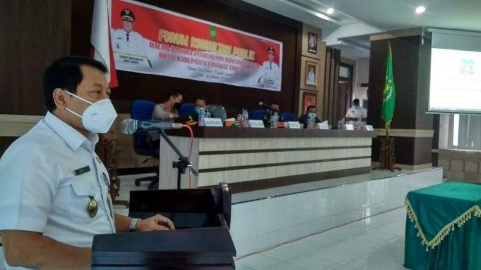 Pemkab Langkat Gelar Forum Konsultasi Publik RKPD 2022