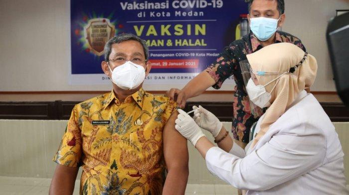 Tergantung Ketersediaan Vaksin, Vaksinasi Bagi Lansia di Sumut Dijadwalkan Pekan Ketiga Februari