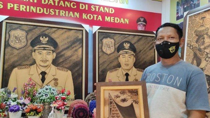 TEA Art Medan Ubah Kopi Sumut Jadi Karya Seni, Hasilkan Ragam Lukisan