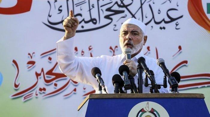 Pemimpin Hamas Ismail Haniyeh Jadikan Qatar Markas Baru, Rumah Yahya Sinwar Diserang Israel