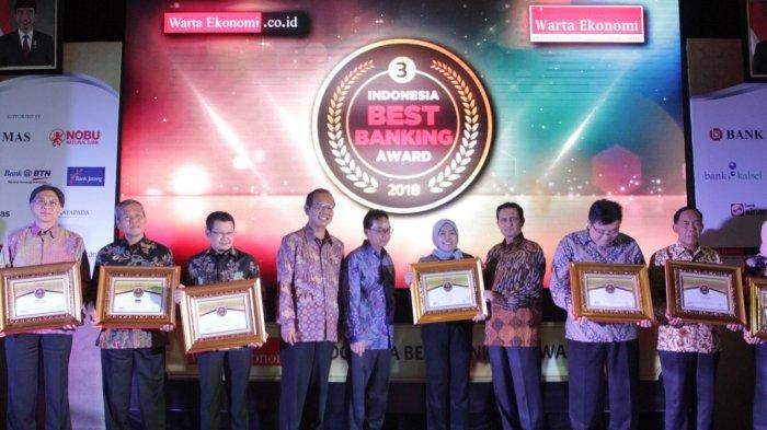 Bank Sumut Raih Penghargaan pada Indonesia Best Banking Award 2018