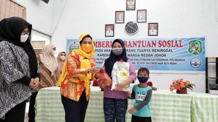 Pemko Medan Lakukan Pendampingan Terhadap Anak Kehilangan Orangtua Akibat Covid-19
