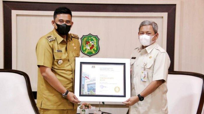Pemko Medan Raih Dua Penghargaan BKN Award 2021