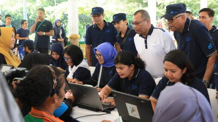 Cara Pemko Medan Manfaatkan Car Free Day (CFD) untuk Sensus Penduduk Online, Akhyar Dikerumini Warga